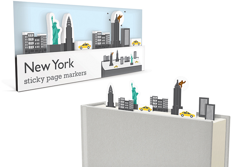 009_Sticky_Page_Markers_NEW-YORK_paper_bookmarks