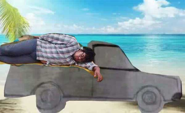 dormido-nissan-pick-up